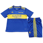 Boca Juniors Home Jersey Kit 2021/22 Kids(Jersey+Shorts)
