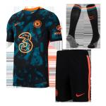 Chelsea Third Away Jersey Kit 2021/22 (Jersey+Shorts+Socks)