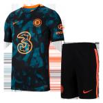 Chelsea Third Away Jersey Kit 2021/22 (Jersey+Shorts)
