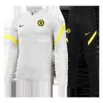 Chelsea Sweatshirt Kit 2021/22 - Kid Gray (Top+Pants)