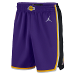 Los Angeles Lakers NBA Shorts Swingman 2020/21 Nike Purple - Association