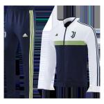 Juventus Training Kit 2021/22 - White&Navy (Jacket+Pants)