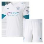 Manchester City Away Jersey Kit 2021/22 (Jersey+Shorts)