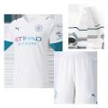 Manchester City Away Jersey Kit 2021/22 (Jersey+Shorts+Socks)