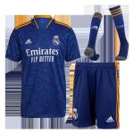 Real Madrid Away Jersey Kit 2021/22 (Jersey+Shorts+Socks)