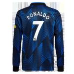 Manchester United RONALDO #7 Third Away Jersey 2021/22 - Long Sleeve