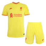 Liverpool Third Away Jersey Kit 2021/22