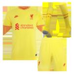 Liverpool Third Away Jersey Kit 2021/22 Kids(Jersey+Shorts+Socks)