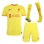 Liverpool Third Away Jersey Kit 2021/22 (Jersey+Shorts+Socks)