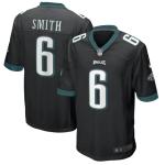 Philadelphia Eagles SMITH #6 Nike Black Game Jersey