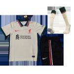 Liverpool Away Jersey Kit 2021/22 Kids(Jersey+Shorts+Socks)