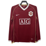 Manchester United Home Jersey Retro 2006/07 - Long Sleeve