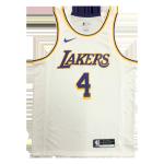 Los Angeles Lakers Rajon Rondo #4 NBA Jersey Swingman Nike White - Association