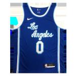 Los Angeles Lakers Westbrook #0 NBA Jersey Swingman Nike Blue - Classic