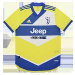 Juventus Third Away Jersey Authentic 2021/22