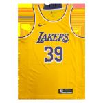 Los Angeles Lakers Dwight Howard #39 NBA Jersey Swingman Nike Gold - Icon