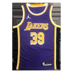 Los Angeles Lakers Dwight Howard #39 NBA Jersey Swingman Jordan Purple - Statement