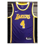 Los Angeles Lakers Rajon Rondo #4 NBA Jersey Swingman Nike Purple - Statement