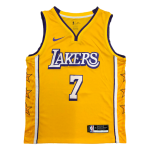 Los Angeles Lakers Carmelo Anthony #7 NBA Jersey Swingman Nike Yellow - City