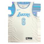 Los Angeles Lakers Lebron James #6 NBA Jersey Swingman 2021 Nike White - City
