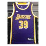 Los Angeles Lakers Dwight Howard #39 NBA Jersey Swingman Nike Purple - Statement