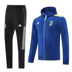 Juventus Training Kit 2021/22 - Blue (Jacket+Pants)