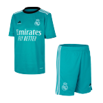 Real Madrid Third Away Jersey Kit 2021/22 (Jersey+Shorts)