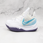 KYRIE LOW 4 'WHITE LASER BLUE'