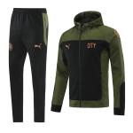 Manchester City Training Kit 2021/22 - Dark Green (Jacket+Pants)