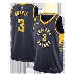 Indiana Pacers Chris Duarte #3 NBA Jersey SwingmanReplica Nike Navy - Icon