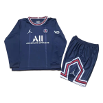 PSG Home Jersey Kit 2021/22 Kids(Jersey+Shorts)