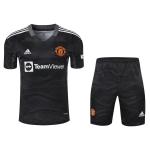 Manchester United Goalkeeper Jersey Kit 2021/22 (Jersey+Shorts)