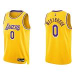 Los Angeles Lakers Russell Westbrook #0 NBA Jersey Swingman Nike Gold - Icon