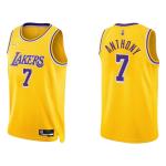 Los Angeles Lakers Carmelo Anthony #7 NBA Jersey Swingman Nike Gold - Icon